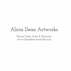 Aliciadeanartworks Logo New 2016 small  regular