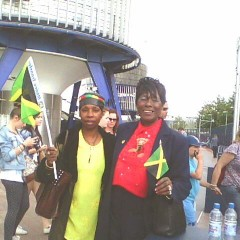 Deloris and Monica at O2 London