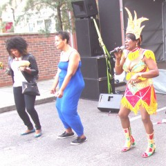 Deloris Francis at fun day in East London 2013