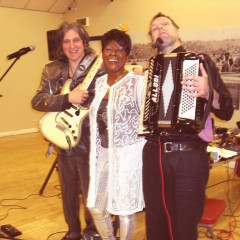 Deloris Francis, Kenny and Steve  at Tea Dance