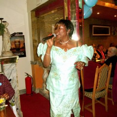 Deloris Francis at Diabetes UK fund raising 2013
