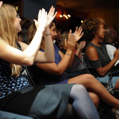 Audience at Mr Wrong Book Launch