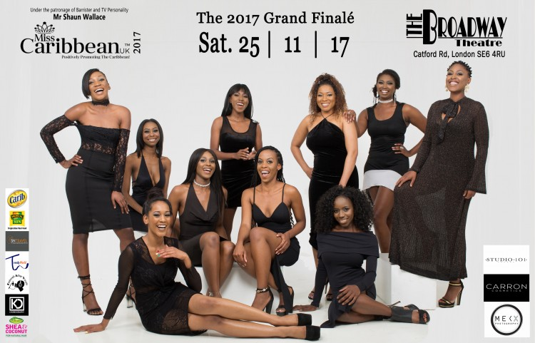 Miss Caribbean UK Pageant Grand Final