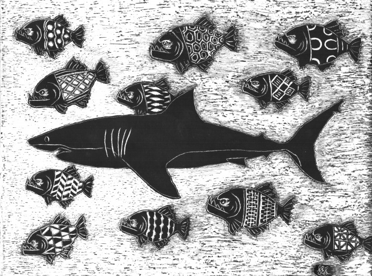 Proverb: 'A nuh ebry fish a sea a shark.'   Meaning: Don't make assumptions about people based on where they live.